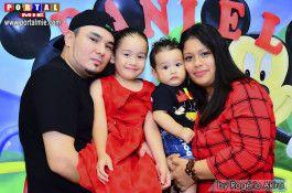 Daniel, Rayssa com os pais