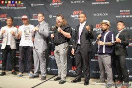 Lutadores do UFC Japan 2015
