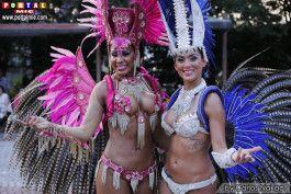 Passista Sandra Bahia e Adriane
