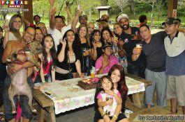 Tathiane e convidados